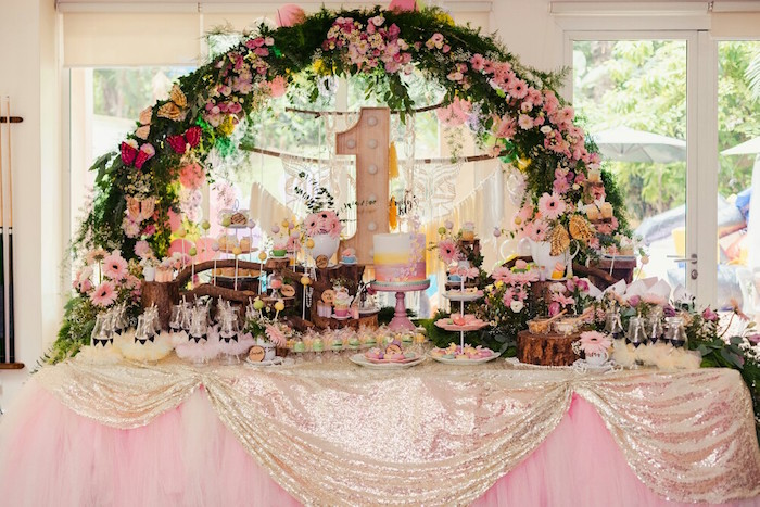 Woodland Butterfly Tea Party on Kara's Party Ideas | KarasPartyIdeas.com (25)