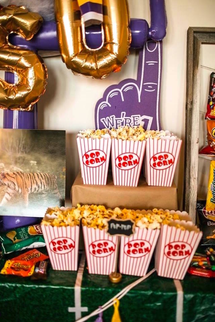Kara's Party Ideas Lsu Football Party  Kara's Party Ideas. 60s Party Decorations. Wooden Decorative Letters. Ikea Dining Room Chairs. White Wash Dining Room Table. Rustic Living Room Set. Decor Boxes. Bronze Wall Decor. Rooms For Rent Madison Wi