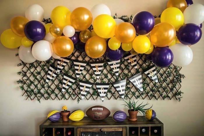 Kara S Party Ideas Lsu Football Party Kara S Party Ideas