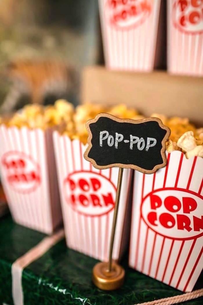 Popcorn from an LSU Football Party on Kara's Party Ideas   KarasPartyIdeas.com (10)
