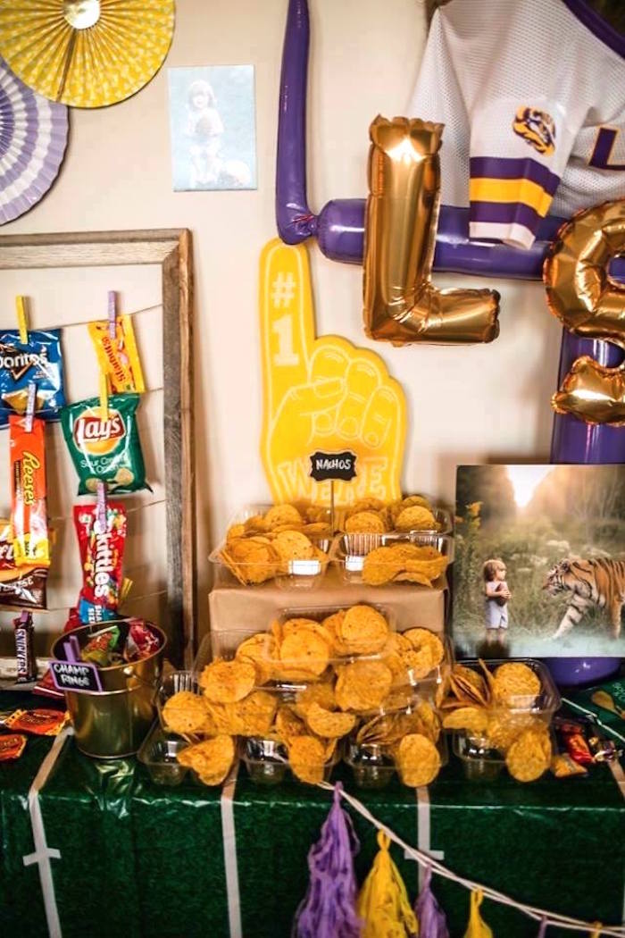 Kara S Party Ideas Lsu Football Party Kara S Party Ideas