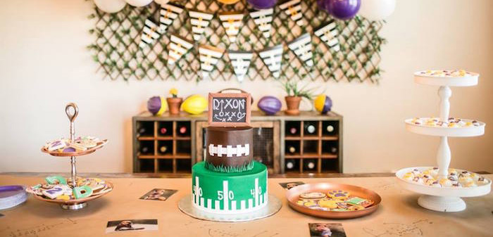 LSU Football Party on Kara's Party Ideas | KarasPartyIdeas.com (1)