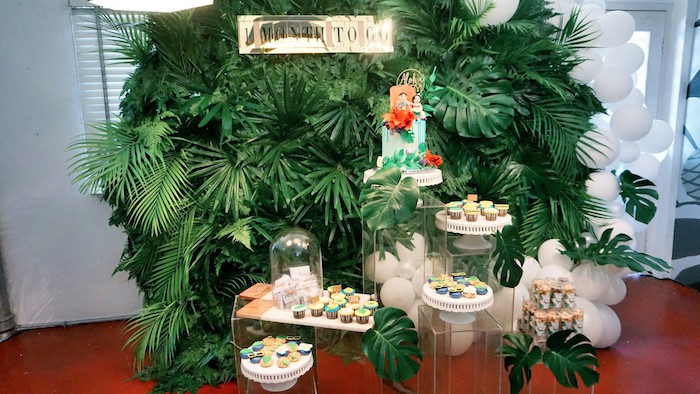 Tropical Christmas Party Ideas.Kara S Party Ideas Tropical Jungle Baby Shower Kara S Party Ideas
