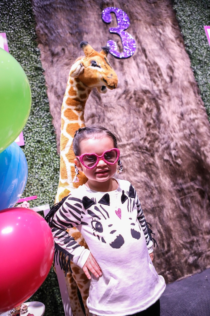 """Young, Wild & Three"" Animal Birthday Party on Kara's Party Ideas | KarasPartyIdeas.com (34)"