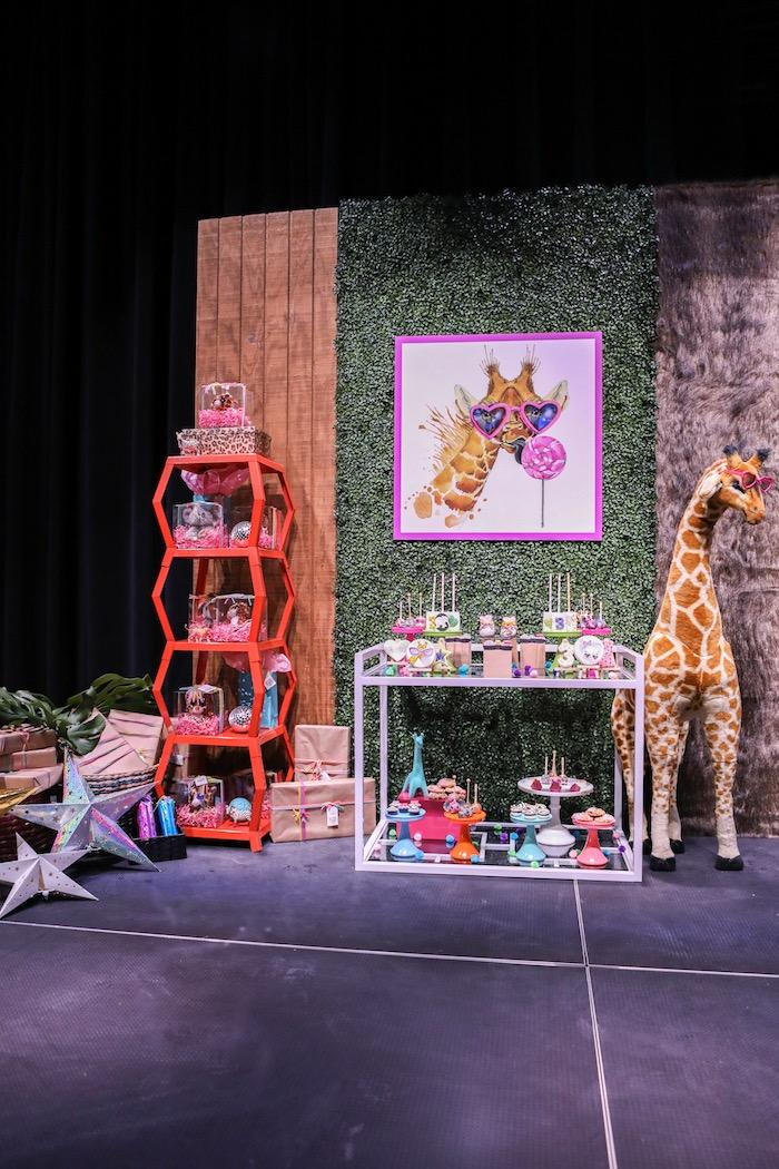 """Young, Wild & Three"" Animal Birthday Party on Kara's Party Ideas   KarasPartyIdeas.com (13)"