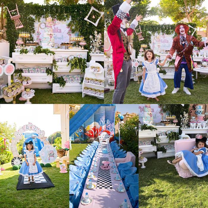 Alice in Wonderland Birthday Party on Kara's Party Ideas | KarasPartyIdeas.com (6)