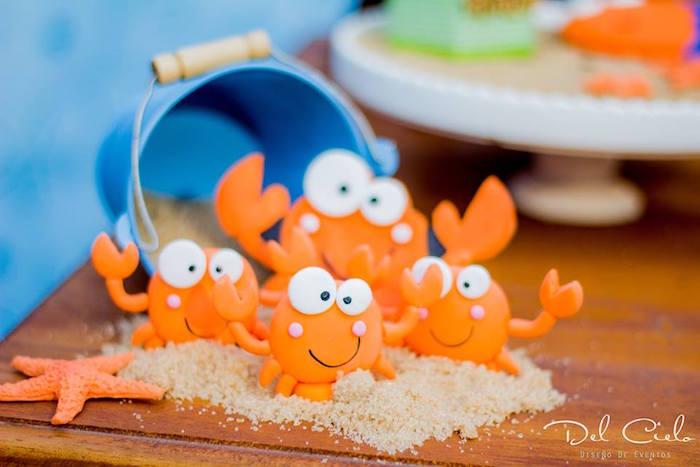 Karas Party Ideas Baby Sea Animal Birthday Party