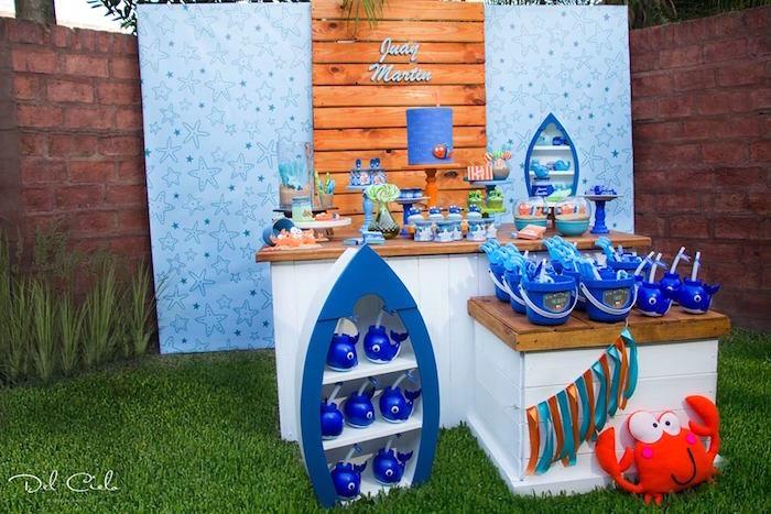 Baby Sea Animal Birthday Party on Kara's Party Ideas | KarasPartyIdeas.com (21)