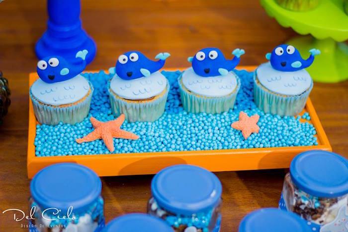 Kara S Party Ideas Baby Sea Animal Birthday Party Kara S