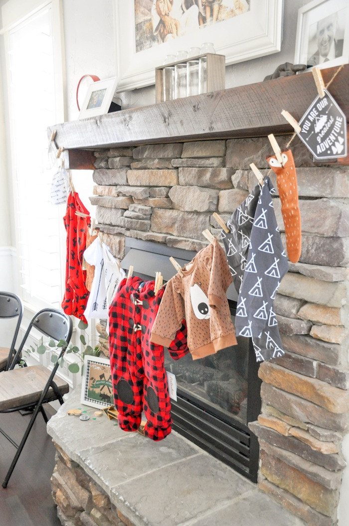 Kara S Party Ideas Little Lumberjack Baby Shower Kara S