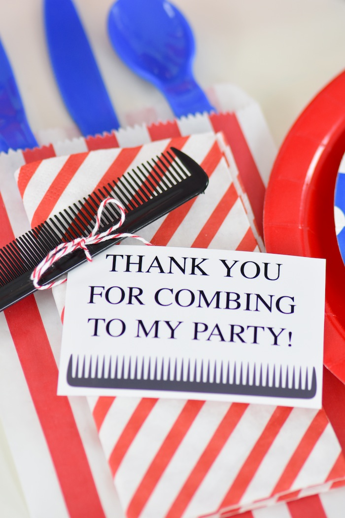 Kara S Party Ideas Pop Up Barbershop Birthday Party Free
