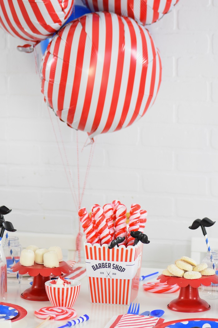 Kara's Party Ideas Pop Up Barbershop Birthday Party- FREE ...