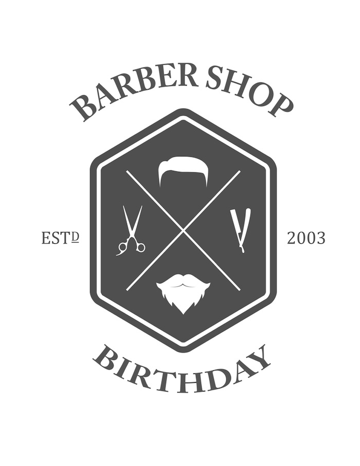 FREE Printable Barber Shop Birthday Party Sign via Kara's Party Ideas