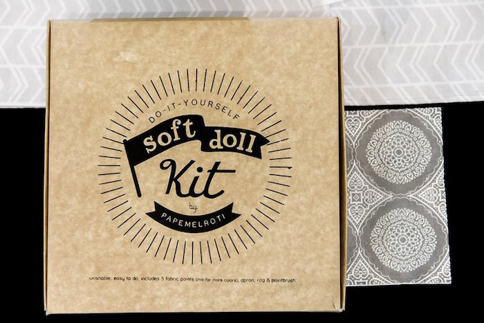 Soft Doll Kit - Activity from a Contemporary Scandinavian Birthday Party on Kara's Party Ideas | KarasPartyIdeas.com (17)