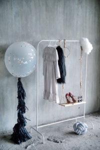 Photo shoot clothes + props from a Contemporary Scandinavian Birthday Party on Kara's Party Ideas | KarasPartyIdeas.com (39)