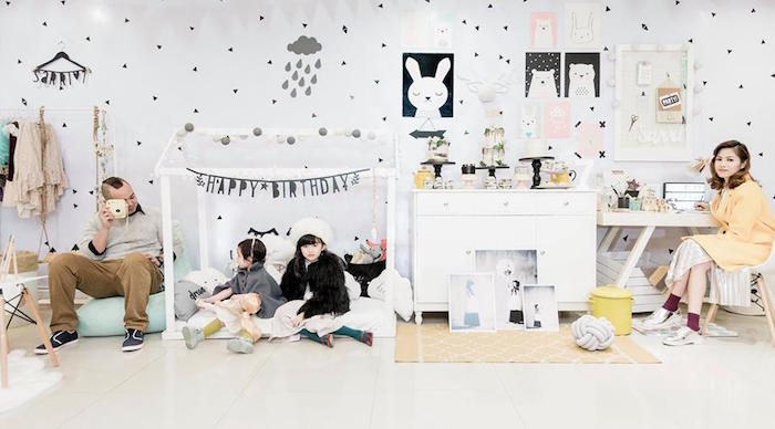 Contemporary Scandinavian Birthday Party on Kara's Party Ideas | KarasPartyIdeas.com (4)