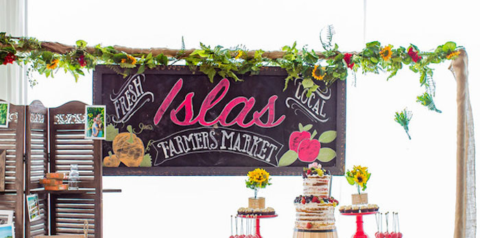 Farmers' Market Birthday Party on Kara's Party Ideas | KarasPartyIdeas.com (1)