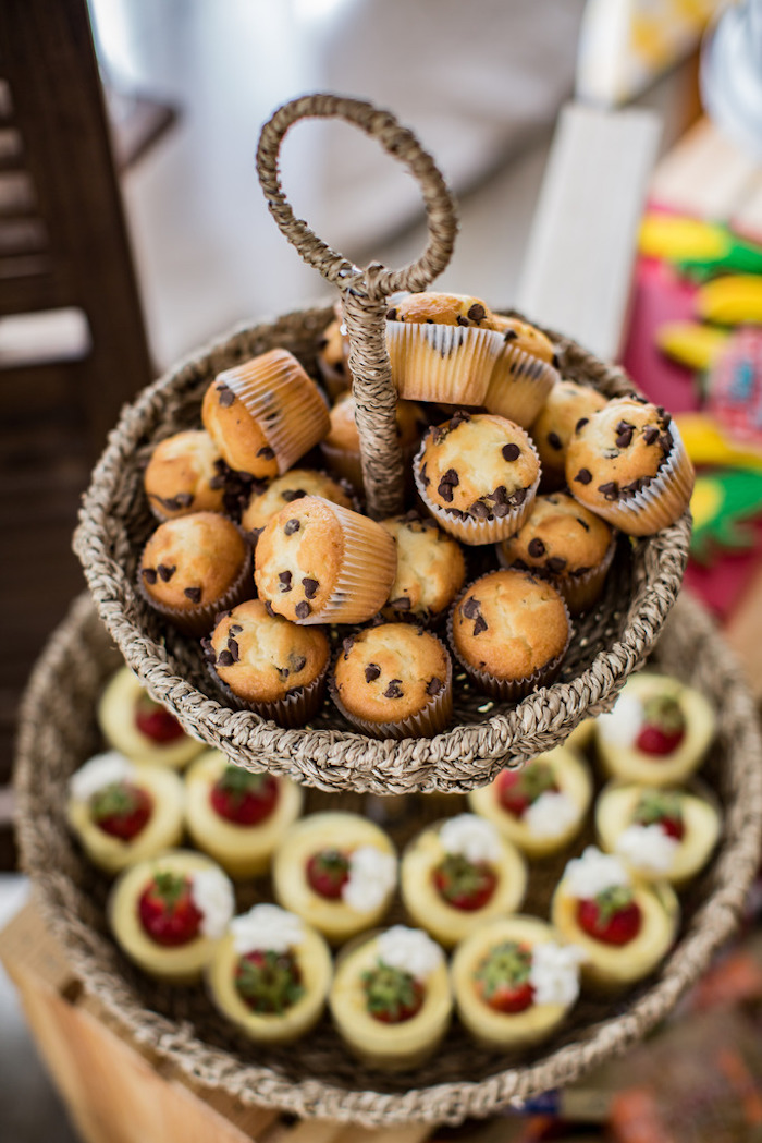 Muffins from a Farmers' Market Birthday Party on Kara's Party Ideas | KarasPartyIdeas.com (12)