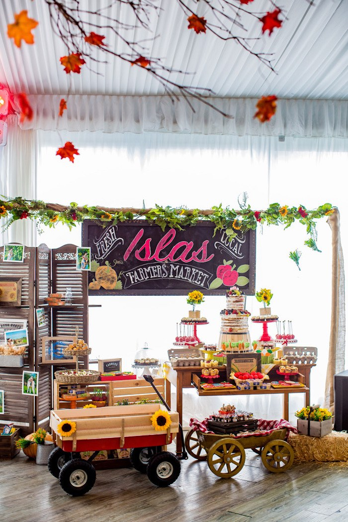 Farmers' Market Birthday Party on Kara's Party Ideas | KarasPartyIdeas.com (11)