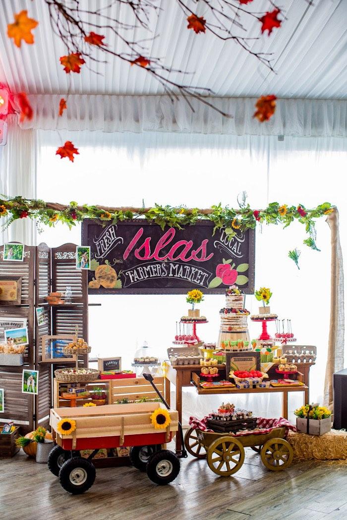 Farmers' Market Birthday Party on Kara's Party Ideas | KarasPartyIdeas.com (11)