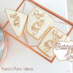 Featured Party of the Week: Rose All Day Party | Kara's Party Ideas | #roseparty #roseallday #30thbirthday #40thbirthday