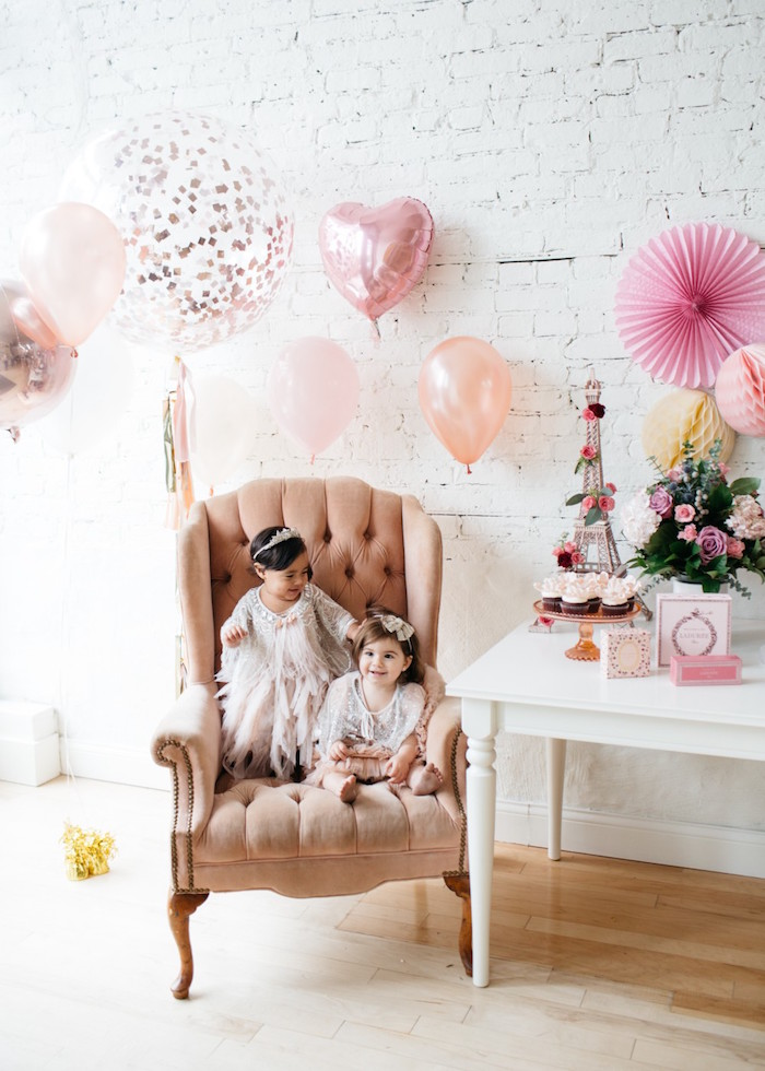 French Flower Market Inspired Birthday Party on Kara's Party Ideas | KarasPartyIdeas.com (14)
