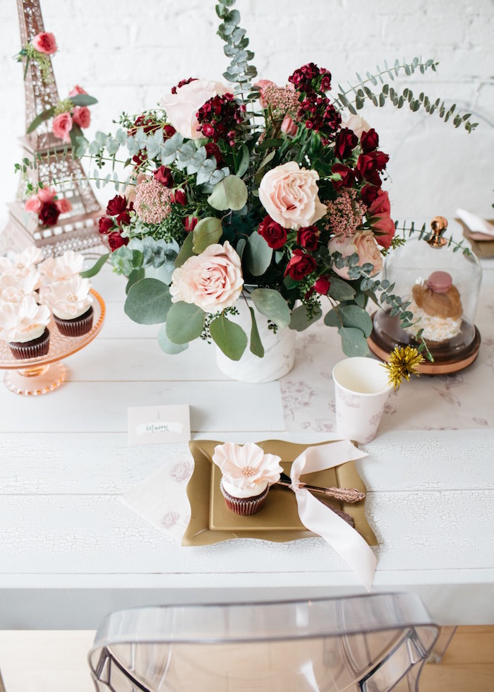 French Flower Market Inspired Birthday Party on Kara's Party Ideas | KarasPartyIdeas.com (11)
