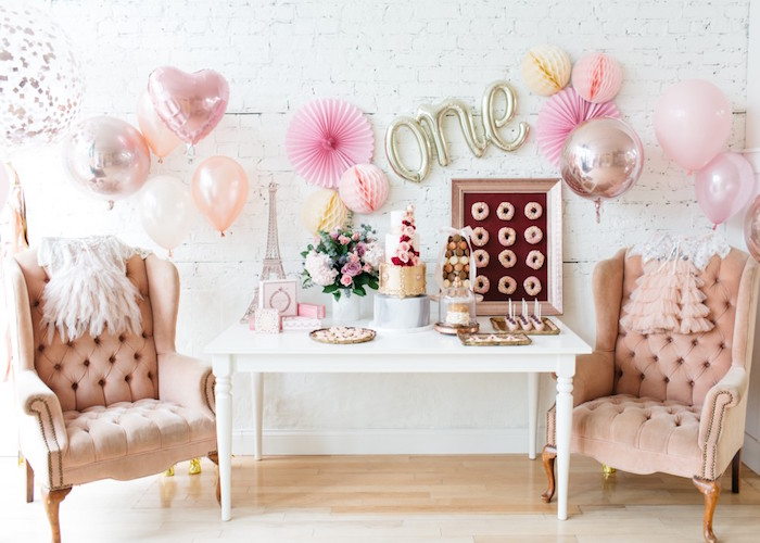 French Flower Market Inspired Birthday Party on Kara's Party Ideas | KarasPartyIdeas.com (3)