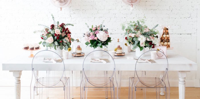 French Flower Market Inspired Birthday Party on Kara's Party Ideas | KarasPartyIdeas.com (1)