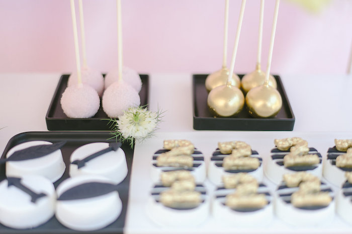 Sweets from a Geometric Boho Wild & Free Birthday Party on Kara's Party Ideas | KarasPartyIdeas.com (16)