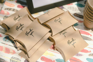 Pillow favor boxes from a Geometric Boho Wild & Free Birthday Party on Kara's Party Ideas | KarasPartyIdeas.com (7)