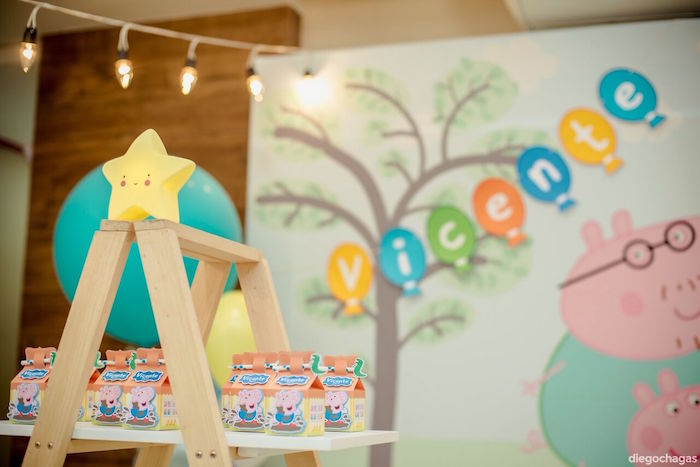 Favors from a George Pig Birthday Party on Kara's Party Ideas | KarasPartyIdeas.com (11)