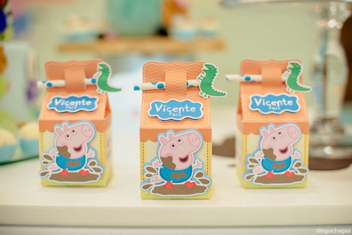 George Pig Milk Cartons from a George Pig Birthday Party on Kara's Party Ideas | KarasPartyIdeas.com (22)