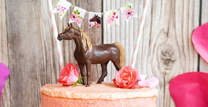 Girly Horse Birthday Party on Kara's Party Ideas | KarasPartyIdeas.com (2)