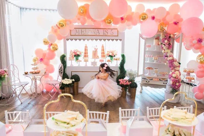 High Tea Birthday Party on Kara's Party Ideas | KarasPartyIdeas.com (16)