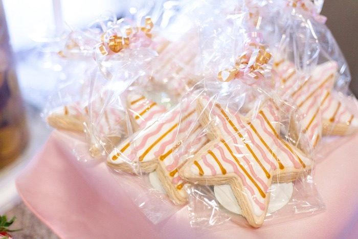Star Cookies from a Magical Unicorn Baby Shower on Kara's Party Ideas | KarasPartyIdeas.com (15)