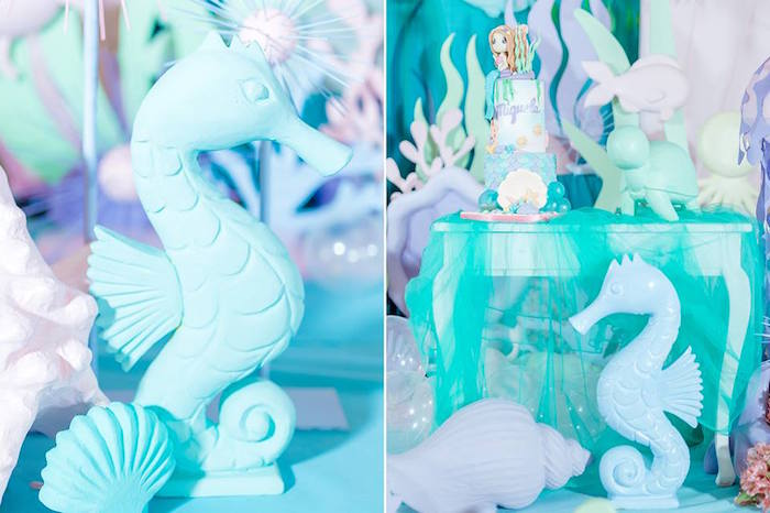 Kara S Party Ideas Majestic Under The Sea Birthday Party