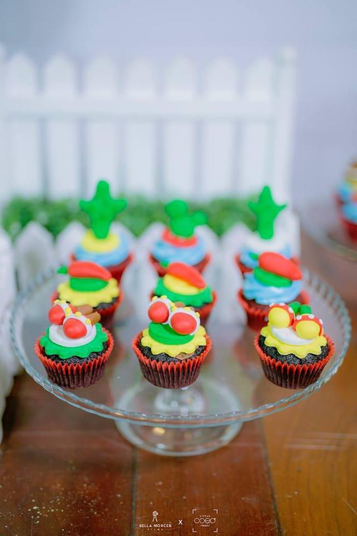 Fiesta Cupcakes from a Mexican Birthday Fiesta on Kara's Party Ideas | KarasPartyIdeas.com (14)