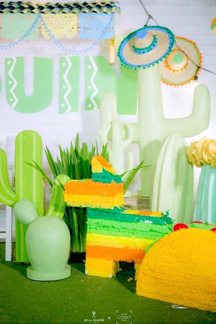 Mexican Decor from a Mexican Birthday Fiesta on Kara's Party Ideas | KarasPartyIdeas.com (6)