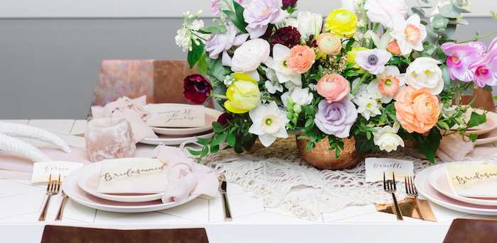 Modern Bohemian Bridesmaids' Brunch on Kara's Party Ideas | KarasPartyIdeas.com (2)