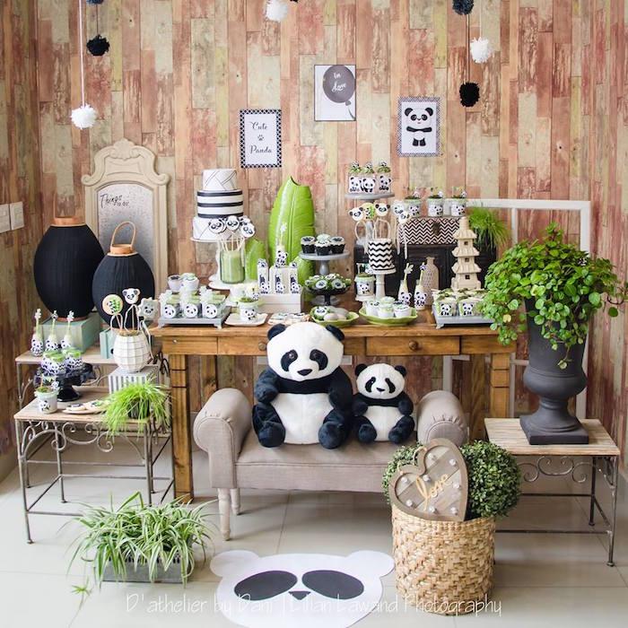 Panda Lover Birthday Party on Kara's Party Ideas   KarasPartyIdeas.com (13)