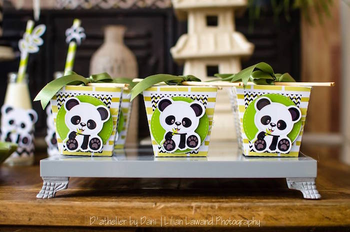 Chinese favor boxes from a Panda Lover Birthday Party on Kara's Party Ideas   KarasPartyIdeas.com (10)