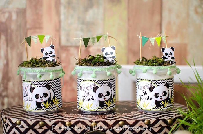 Panda Favors from a Panda Lover Birthday Party on Kara's Party Ideas   KarasPartyIdeas.com (8)