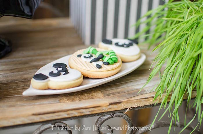 Cookies from a Panda Lover Birthday Party on Kara's Party Ideas   KarasPartyIdeas.com (7)
