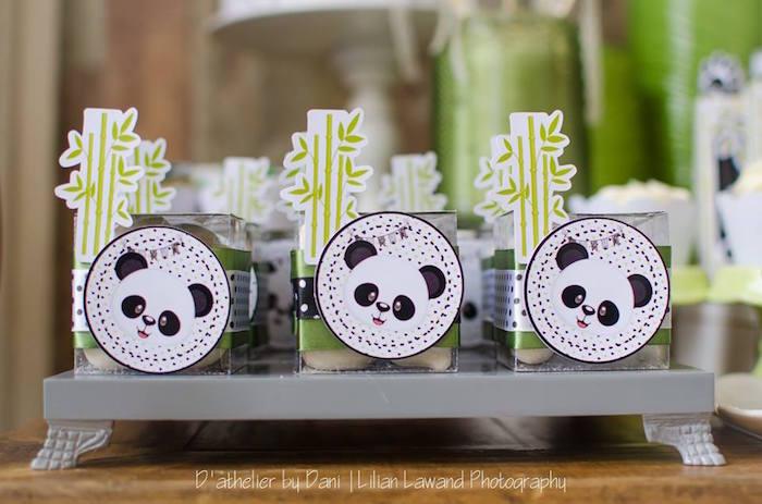 Panda favors from a Panda Lover Birthday Party on Kara's Party Ideas   KarasPartyIdeas.com (5)