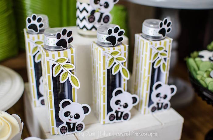 Bamboo favors from a Panda Lover Birthday Party on Kara's Party Ideas   KarasPartyIdeas.com (27)