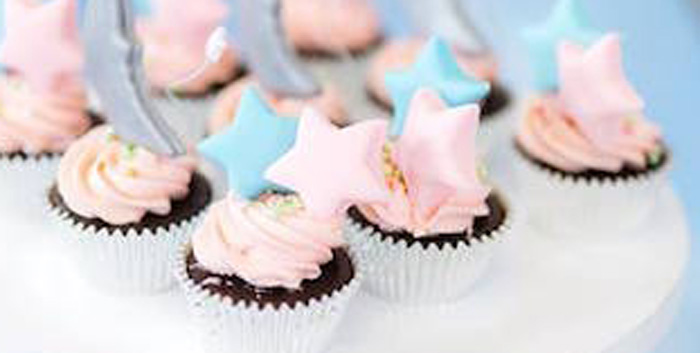 Pastel Moon & Stars Birthday Party on Kara's Party Ideas | KarasPartyIdeas.com (2)