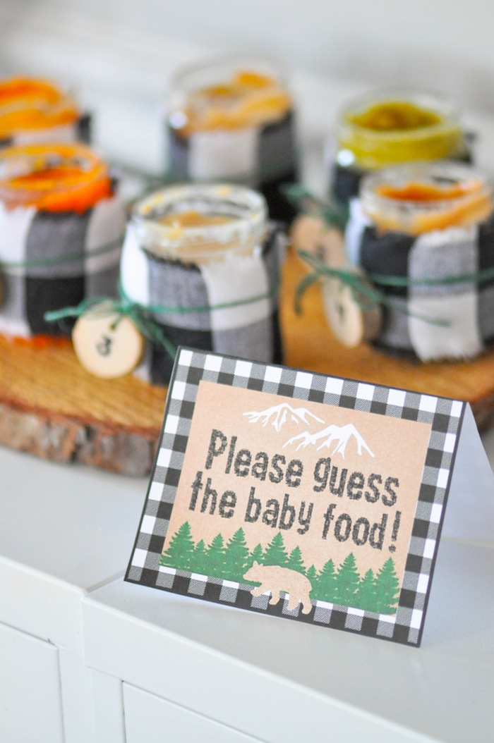 Kara S Party Ideas Little Lumberjack Baby Shower Kara S Party Ideas