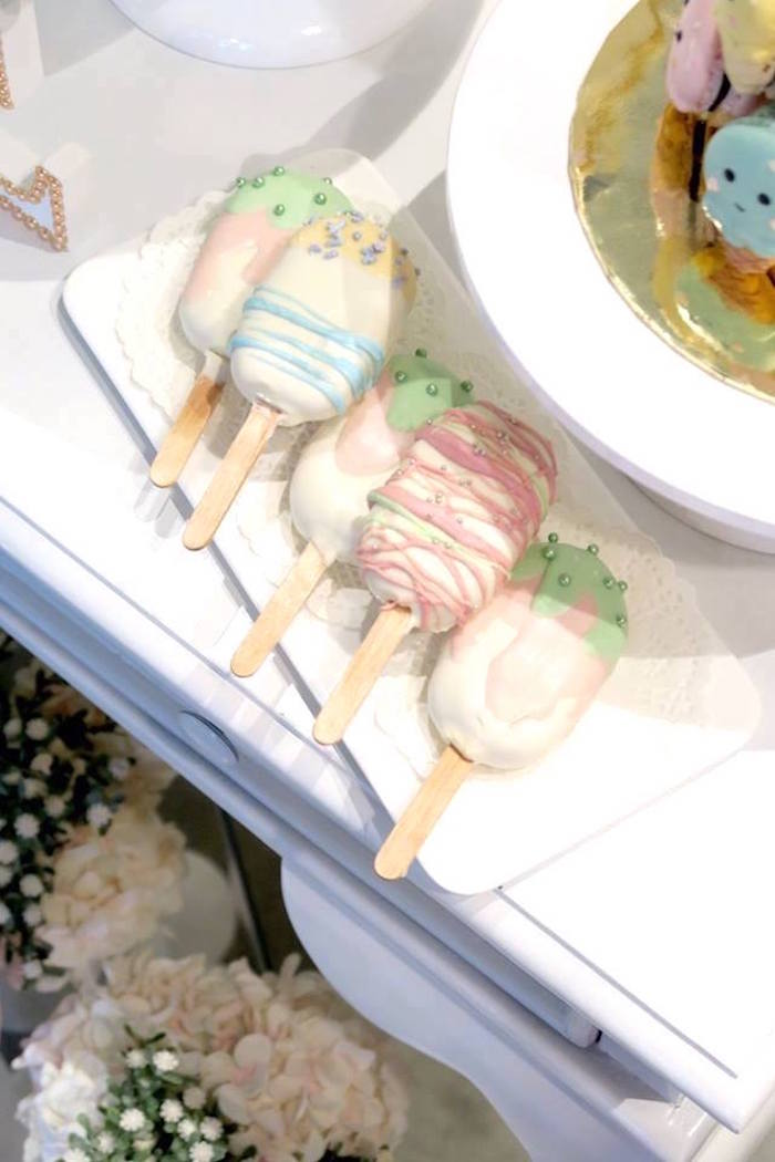 Popsicle cake pops from a Popsicle Birthday Party on Kara's Party Ideas | KarasPartyIdeas.com (10)