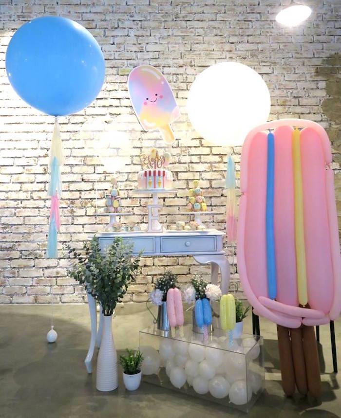 Popsicle Birthday Party on Kara's Party Ideas | KarasPartyIdeas.com (9)